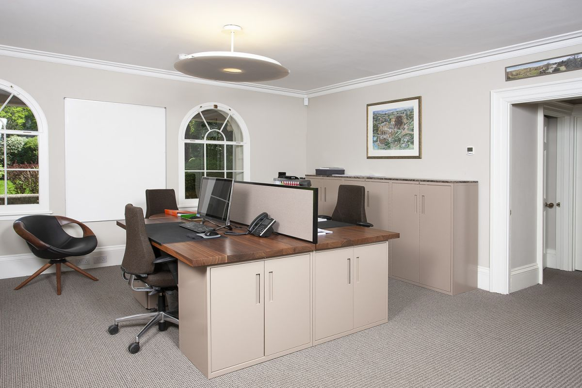 Contemporary serviced offices